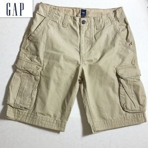 Gap Khaki Cargo Shorts
